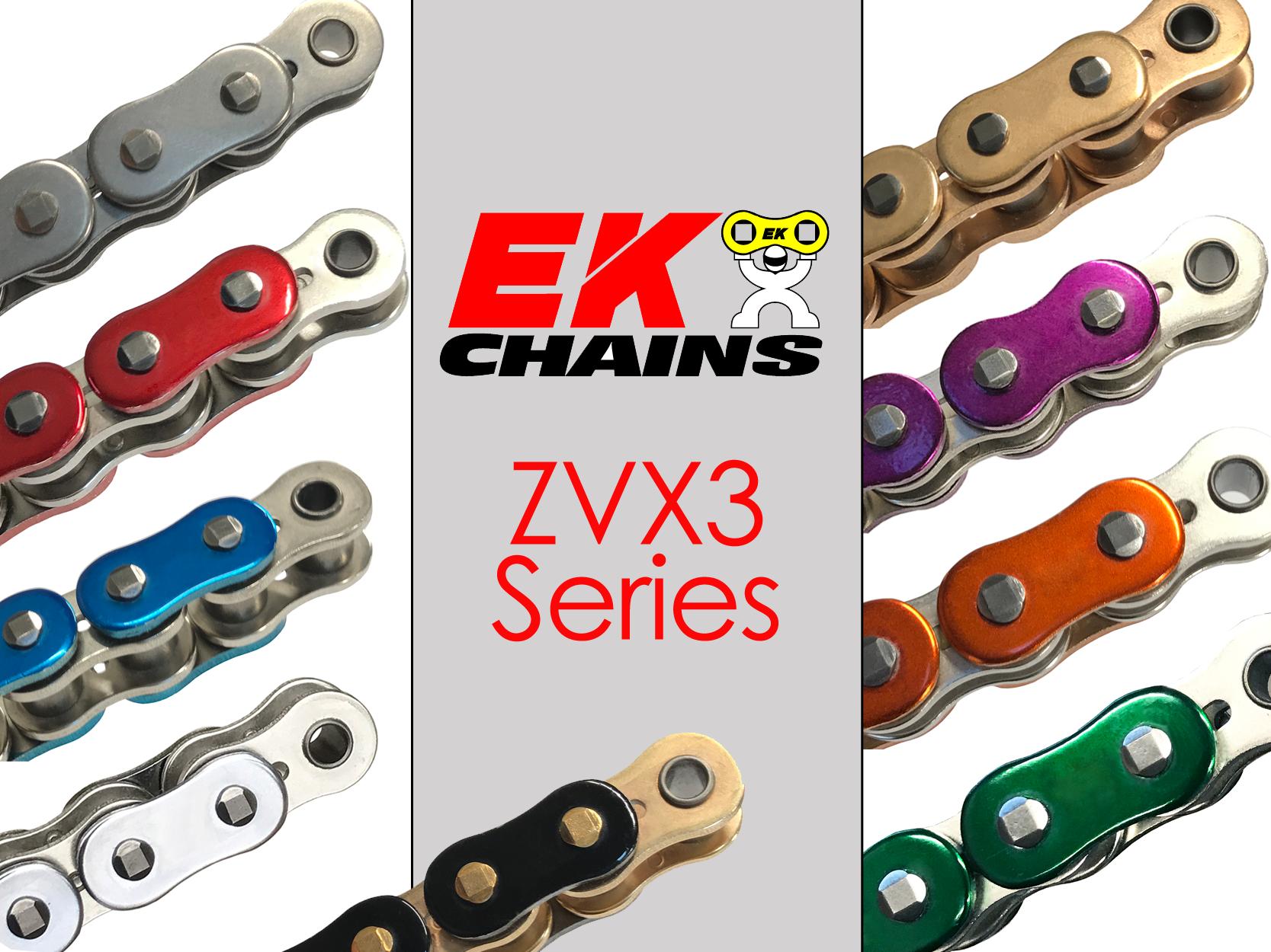 EK Chains 530 x 100 Links Standard Series Non Oring Natural Drive Chain