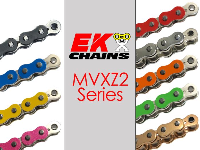 AR QTY 2 EK Chain Rivet Connecting Link Green Type 525MVXZ-MLJ